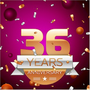 36 Years Celebration Anniversay