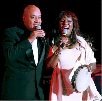 Martha Reeves and Jimmy Merchant together