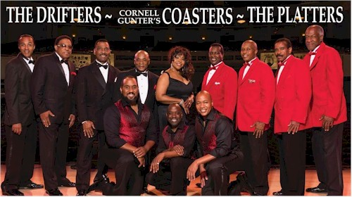 The Drifters The Cornell Gunter Coasters The Platters