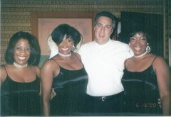 Mark Sonder with The Marvelettes